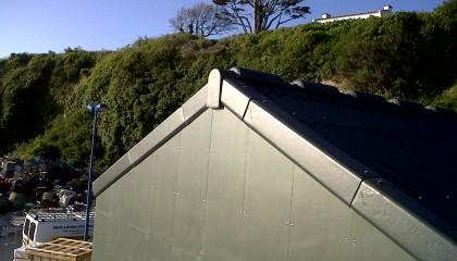 Couvertures panneaux Coloronde & Eternit à la Maison des pêcheurs de Houat 4