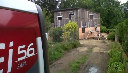 Couverture EPDM Hennebon avant travaux