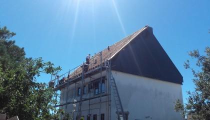 Erdeven ITE toiture zinc sarking 3