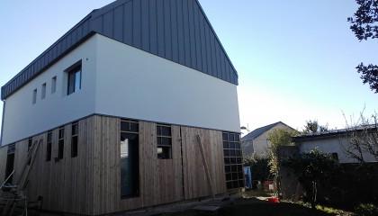 Erdeven ITE toiture zinc Sarking 4