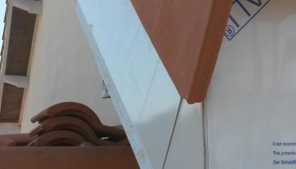 ITE toiture en pente à Nantes -  habillage rive tuile avec support en zinc