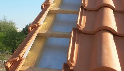 ITE toiture en pente à Nantes -  rive de toiture