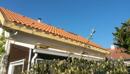 ITE toiture en pente à Nantes - sarking et couverture tuiles