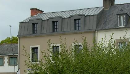 Couverture Zinc Lucarnes Ploermel