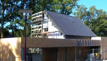Isolation maison passive - chantier en cours 2